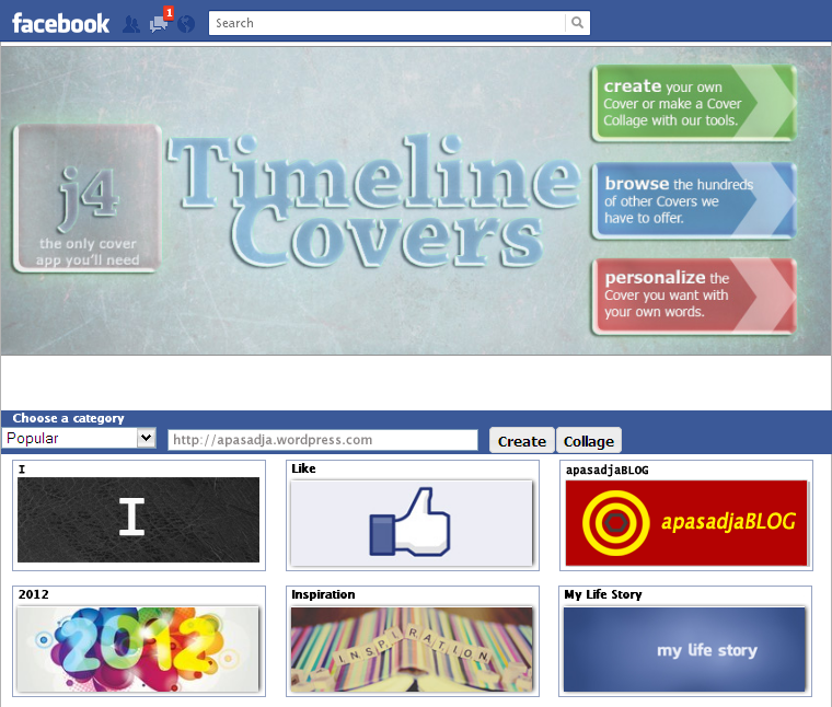 Timeline Cover app